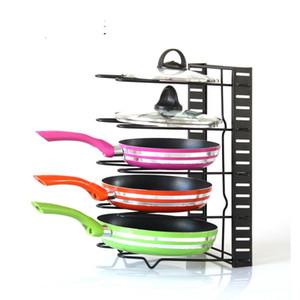Organizador de la cocina Pan Platos soporte de la placa de corte rack soporte de metal Estante de almacenamiento Escurridor fregadero Organizador seco en rack Accesorios cocina