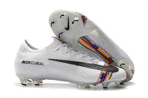2019 رجل كرة قدم أحذية Mercurial VaporX XII Elite FG كرة القدم المرابط Superfly VI 360 النخبة FG كرة القدم أحذية تاكوس دي فوتبول الساخن بيع