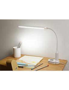 LED göz klip masa lambası başucu lambası plug-in tipi karartma masa lambası beyaz Kids 'Hediye Güzel Gece Işıkları