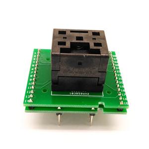 Freeshipping QFN28 MLF / WLCSP28 a DIP28 Programmazione Test Adapter Passo 0,5 millimetri Dimensioni IC corpo 5x5IC550-0284-011-G Clamshell SMD / SMT zoccolo della prova