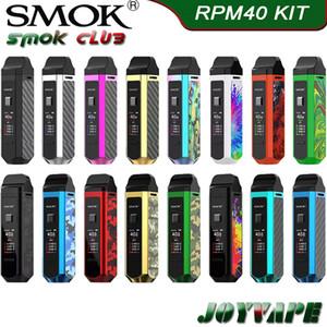 SMOK RPM40 Kit Built-in 1500mAh 40W VW Pod Mod Kit con Nord Pod 4,5 ml RPM Pod 4.3ml con Nord RMP bobine