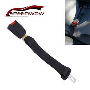 SPEEDWOW 2.1cm Buckle Car Seat Belt Extender Safety Belt Extension Plug Extension Buckle Seat Belts Padding Extender