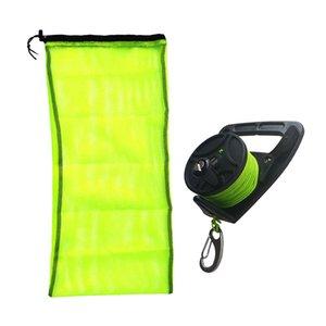 Durable Mergulho Reel malha Bolsa com cordão para mergulho com snorkel Esportes Aquáticos