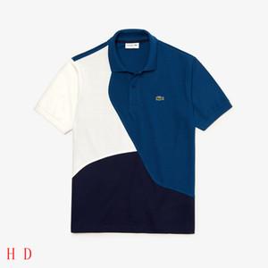 20ss футболка бежевый Сделано в Италии LSC Поло футболка Мужчины Женщины спорт с коротким рукавом летняя улица повседневная футболка HFLSTX470
