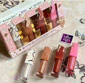 Dropshipping New 2019 Make up lip gloss Better Not Pout But If You Do Keep It Glossy Lip Set free shipping 4pcs lot