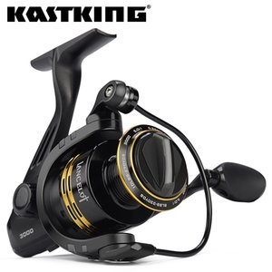 Lancelot d'acqua dolce Spinning Reel 8kg Max drag Mulinello Serie 2000-5000 5.0: 1 Gear Ratio Per Bass Fishing