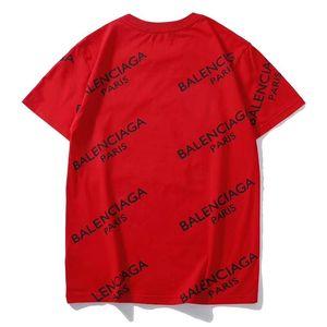 T-shirt Mode Rouge Noir Blanc Hommes Art Paris Hommes T-shirt à manches courtes Top M-3XL