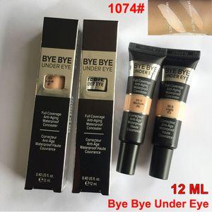 Trucco Fondazione Concealer Bye Bye Under Eye Bb Cream 12ml Makeup Covealers Copertura completa Impermeabile Primer Eyes Concealer Light Medium