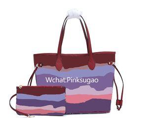 Pink Sugao Designer Borse Borsa Tote Bag Donne Lhome Borsa a tracolla 2020 Nuovo stile Tote di alta qualità Borse da donna Borse Designer Borse stampate fiore