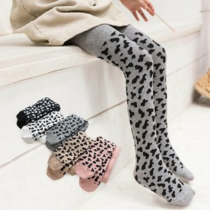 Cotton Baby Kids Girls Leopard Print Tights Stockings Pants Hosiery Pantyhose Soft Warm Sweet Cute Tights