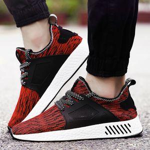 Chaussures de loisir de la marque, lacets respirants, chaussures de marche facile, chaussures de basket-ball confortables et de grande taille, chaussures noires