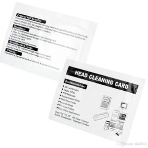 50 ADET Manyetik Temizleme Kart İletişim kart okuyucu temizleme kartı