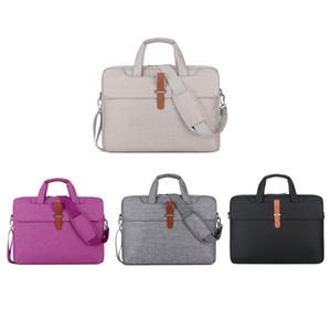 Nueva moda portátil Laptop Bag 14 de 15 pulgadas de gran capacidad portátil del cuaderno Bolso Bolsas durable de la caja del cuaderno suave Bolsa de Negocios VT1487