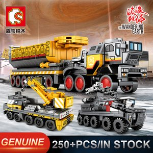 Sembo The Wandering Erde Military Tank Figther Trucks Technic Bausteine Bricks Lernspielzeug Geschenke 107001 107002 107003 107004