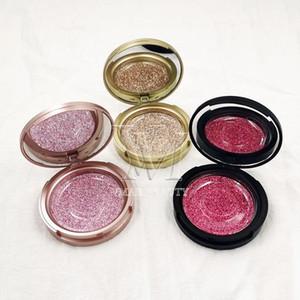 Custom Eyelashes Packing Boxes Spray Paint Box Lashes Package Customize Storage Cases Makeup Cosmetic Case Mink False Eyelash 1 Pcs DHL