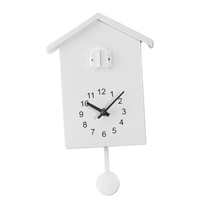 Coucou Dire Silent Time 2 bras Balayer Horloge murale Horloge de chevet