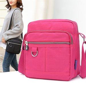 Messenger Bags Multifunction Anti-theft Large Capacity Women Nylon Shoulder Bag Waterproof Elegant Daily Shopping Handbag