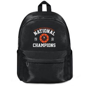 Virginia Cavaliers 2019 NCAA Hommes Basketball Sport Mode Champions national réutilisable Wool épaule Sac à dos Design Fou meilleure école