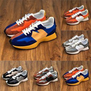 2020 Yeni Casablanca MS327 Erkekler MS 327 Multicolour NB327 Gri Beyaz Mavi Siyah Kahverengi Spor Ayakkabı Boyut 36-45