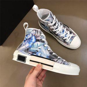 2020 B23 Oblique High Low Top Chaussures Casual chaussures New Fleurs Technique Canvas Femmes Hommes Mode Obliques de chaussures styliste de cuir 19SS