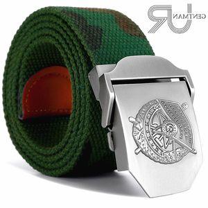 New Men & Women High Quality Belt 3d Red Banner Medal Canvas Sports Belt Soviet Memory Cccp Luxury Jeans Tactical Belts