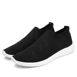 Loafers 2018 Spring New Wear Easy Breathable Soft Flexible Male Socks Shoes Adult Fashion Casual Men Sneakers Man Street Leisure