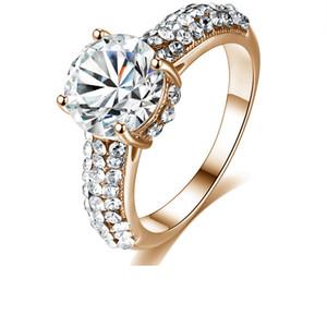 Kadın Zirkon Takı Yüzük Erkekler Düğün Promise Yüzük için 2020 Düğün Takı Eliptik Taşlar Gümüş Yüzük Tasarımları