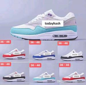 Toptan 87 Atmos 87 Yıldönümü 1 Piet Parra 87 Premium Aysal 1 DELUXE KARPUZ koşu ayakkabıları Mavi Siyah Kırmızı en kaliteli boyutu eur36-46