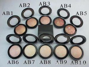 Haute qualité / prix le plus bas Nouveau maquillage chaude 12 Couleur Minéralize Skinfinish Poudre de Powders 10g! Livraison gratuite DHL