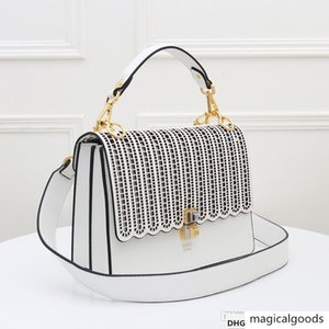 shoulder woman hollow solid color handbag ladies shopping bag soft comfortable M1983 1983666