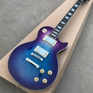 도매 새로운 제품, 고품질 전기 기타, 흑단 바인딩, 멀티 색상에 맞게 사용자 정의 DIY 기타 키트, 무료 배송