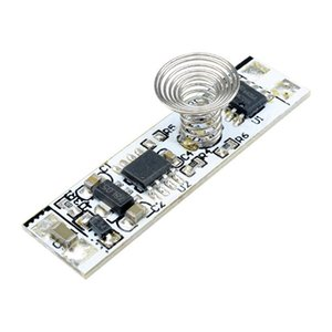 Mini 9V-24V 3A 30W LED dimming control touch switch   capacitive tactile sensor module