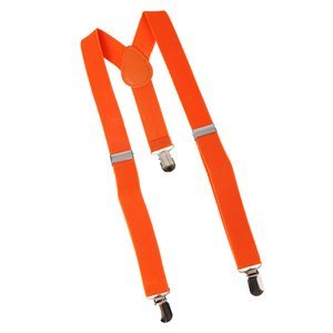 Orange Suspenders Children's Boys Bowtie Kid Suspender Set Elastic Adjustable Y-Back Braces Kids Ties Wedding