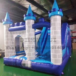 PVC ticari Bouncy kale Şişme atlama kale Jumper Trambolin Şişme Bouncer Arka Bahçe Çal Seti