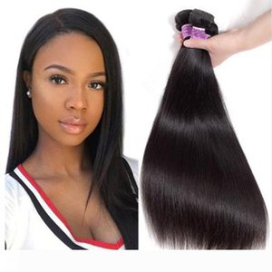 9A Great Quality Human Hair Weave silk Straight 3 or 4 Bundles Lot Cheap Brazilian Remy Hair Weft 100% human hair
