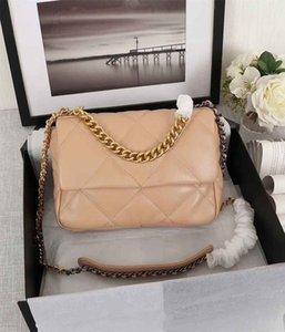Venta de la manera bolsos de diseño de bolsos de lujo a estrenar bolsa de hombro para mujer de la cadena del cuero Cuerpo Cruz Bolso para mujer de color puro del bolso de Crossbody del