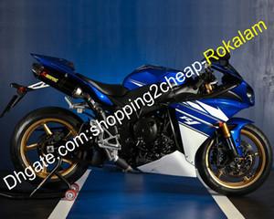 Обтекатель для Yamaha R1 YZF1000 2009-2011 YZF-R1 YZF 1000 R1 Дорожный мотоцикл обтекателя Kit White Blue Black (Литье под давлением)