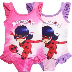 2019 maillots de bain enfants Cartoons Cosplay filles maillots de bain une-pièce Bikinis maillots de bain plage Boutique enfants vêtements vêtements pour enfants