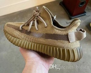 Kanye West V2 Earth Lightweight Fashion Sport Zapatos Running Shoes Designer Sneakers With Box US5-13