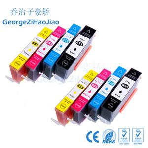 8 X Mürekkep Kartuşları 655XL, HP655 hp655 hp 655 HP Uyumlu HP 655 HP Deskjet 3525 4615 4625 5525 6520 6525 6625 Yazıcı