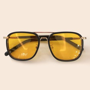 2020 new fashion polarized round atmospheric sunglasses, women's fashionable personalized sunshade glasses, UV400 high quality