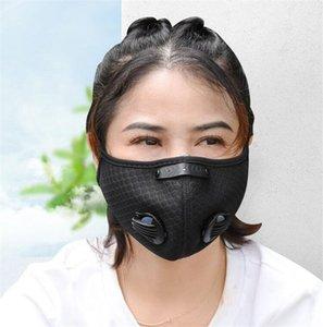 DHL libre envía! Máscara de capa exterior Pm2.Mask Pañuelo 5 máscara de carbón activado anti Haze Boca reemplazable s Para Adultos Y QA9PBC