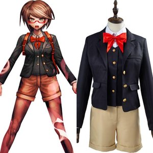 Danganronpa Samidare Yui Cosplay Costume School Uniform Suit Women Girls Halloween Carnival Costume Adult Custom