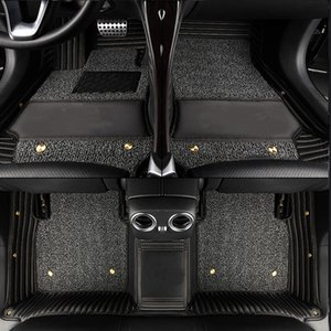 Alfombras de piso a medida para la placa Infiniti Q50 Q60 Q70 QX30 / 50/56/60/70/80 QX50L ESQ EX FX G M JX alfombra de bandeja para el estilo del automóvil