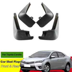 Mud Tommia Para Toyota Corolla Car Flaps respingo guarda-lamas Mudflaps 4pcs ABS Pára-choque dianteiro traseiro