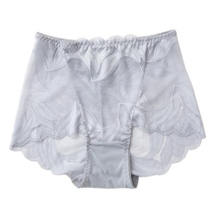 Femmes en dentelle transparente Oversize Panties Women Voir Bien Taille Plus Respirant Slim Bermudas Vêtements Femme Mode