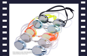Verão de alta qualidade óculos de natação 188630 óculos de natação egrated impermeável e anti-fog plugue de orelha clipe destacável cores