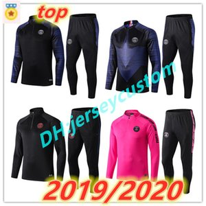 survetement foot enfant algerie fc barcelona real madrid ajax paris psg jordan juventus Atletico Madrid france kids soccer tracksuit 2019 2020 Survêtement de football