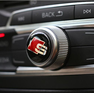 Pegatinas decorativas en el panel de control del vehículo stying S Line Sline Logo Badge Pegatina interior vuelva a colocar el resaltado etiquetado especial para Audi