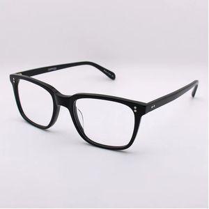 Marco cuadrado retro de la moda de las mujeres de lujo Glassesframe diseñador 5031 Lentes por un hombre simple calidad de la tapa del estilo popular con la caja